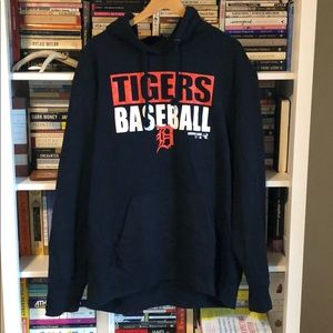 DETROIT TIGERS Hooded Sweatshirt w/ Coppercraft